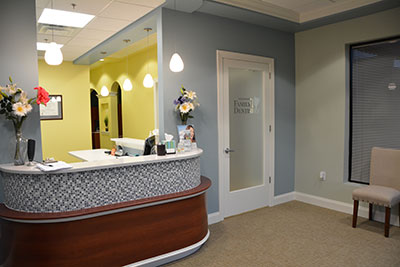 Westminster Md Dental Office Front Desk Reception Area